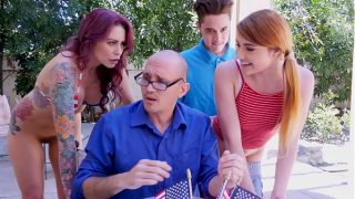 BANGBROS – Awesome 4th Of July Threesome With Monique Alexander, Adria Rae & Juan El Caballo Loco